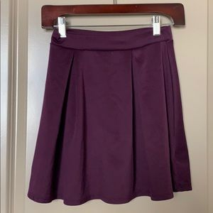 Charlotte Russe cute purple A-Line skirt - chic!